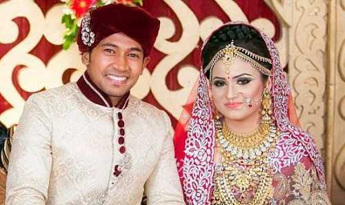 Mushfiqur Rahim wife | at the time of wedding