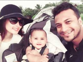 Shakib al Hasan daughter