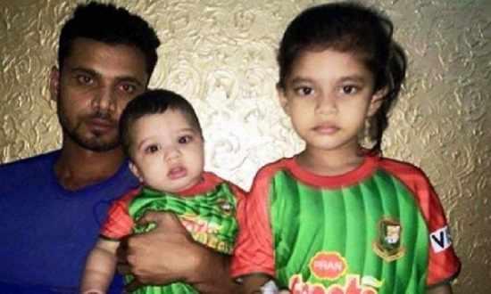 Mashrafe bin Mortaza family