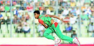 Mustafizur Rahman bowling speed
